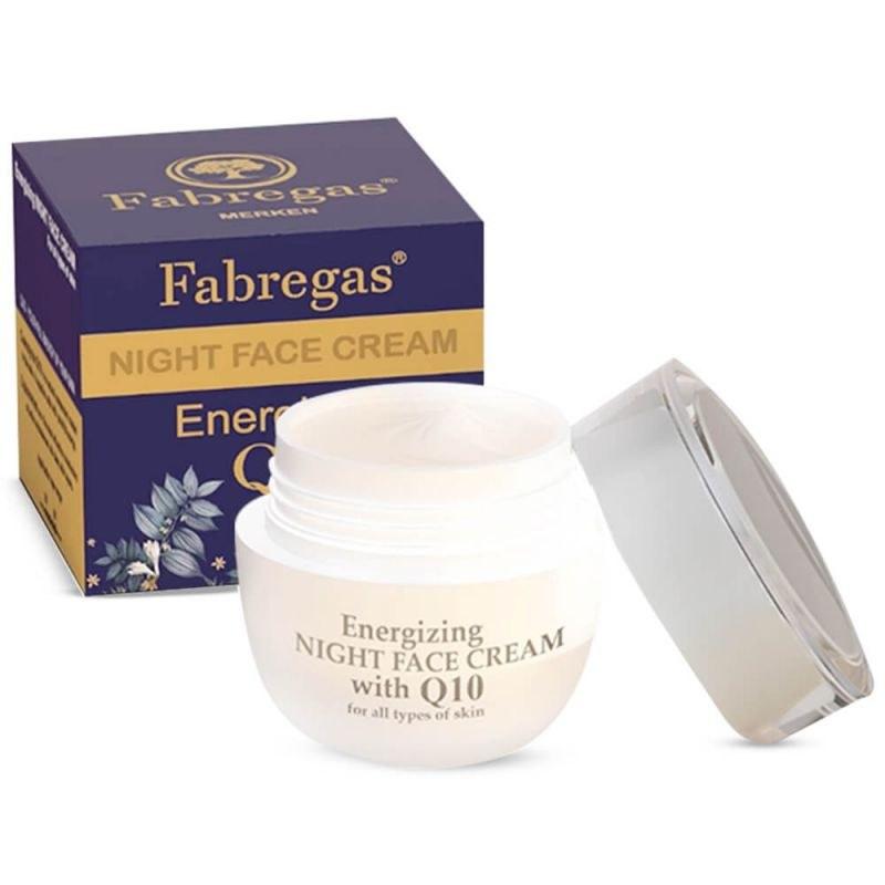 Fabregas Q10 Anti Ageing Night Cream 50ml