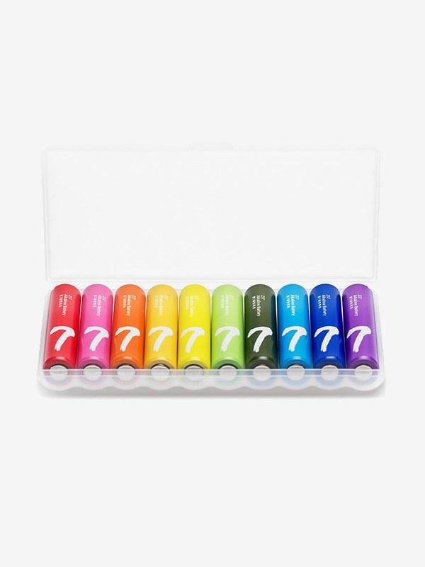 باتری نیم قلمی آلکالاین شیائومی مدل ZI7 بسته ۱۰ عددی
