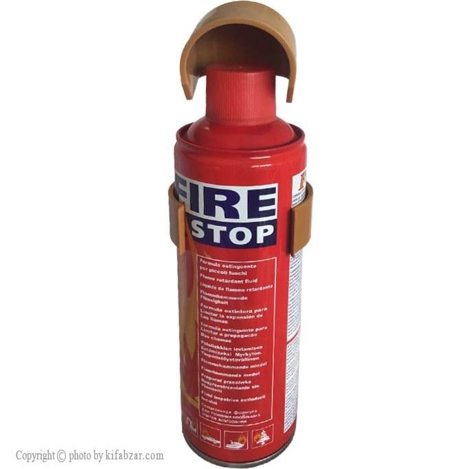 اسپری ضد حریق اف وان مدل F1-23 حجم 500 میلی لیتر دوساله   Fire Stop F1-23 Safety Equipment 500ml
