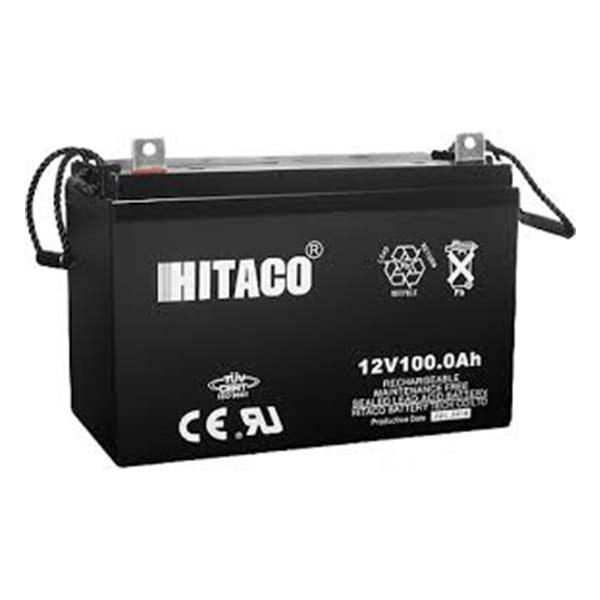تصویر باتری یو پی اس هیتاکو 12V-100Ah سیلد لید اسید 100 آمپرساعت 12 ولت