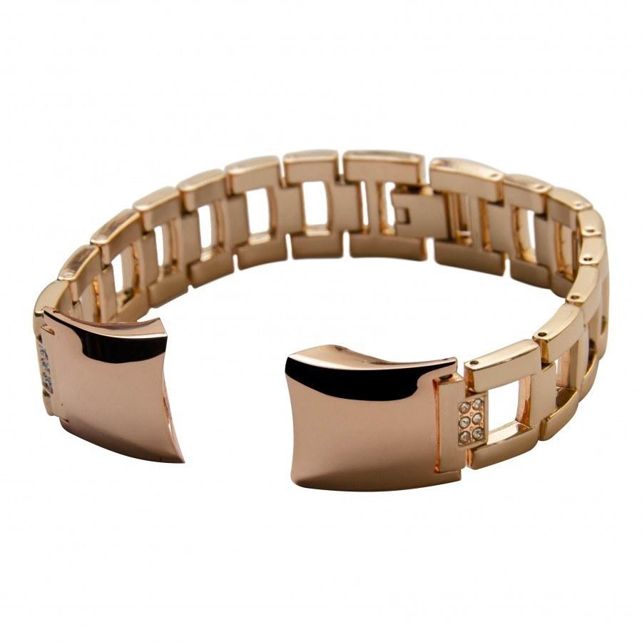 تصویر بند فلزی مدل  Diamond مناسب مچ بند هوشمند هانر مدل Honor Band 4/5