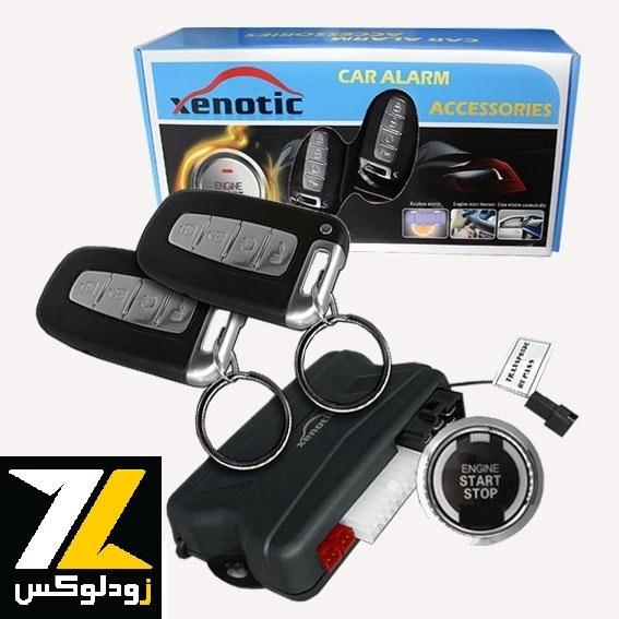 تصویر دزدگیر کیلس استارتر زنوتیک Xenotic Xenotic Keyless Starter car alarm