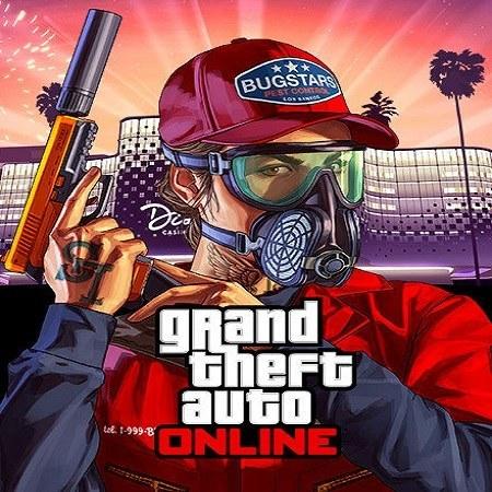 تصویر خرید بازی Grand Theft Auto V سی دی کی برای PC