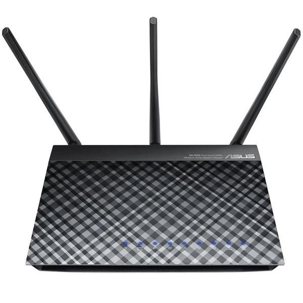 main images مودم ADSL ایسوس مدل ان ۵۵ یو ASUS DSL-N55U N600 Wireless Gigabit ADSL2+ Modem Router