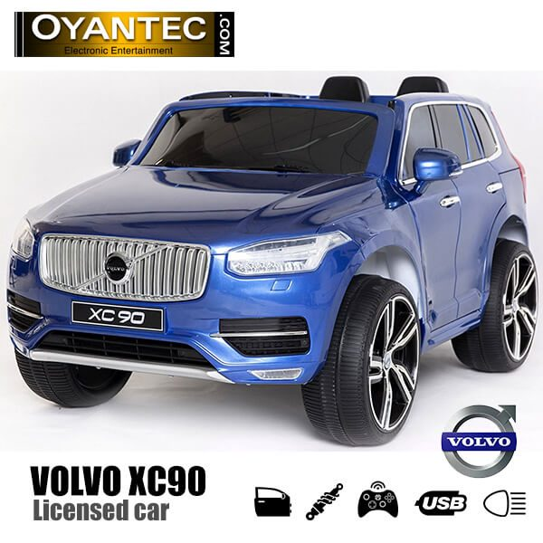 ماشین شارژی ولوو XC90 آبی متالیک سری N | Baby Ride On Car Volvo XC90 Style N Series