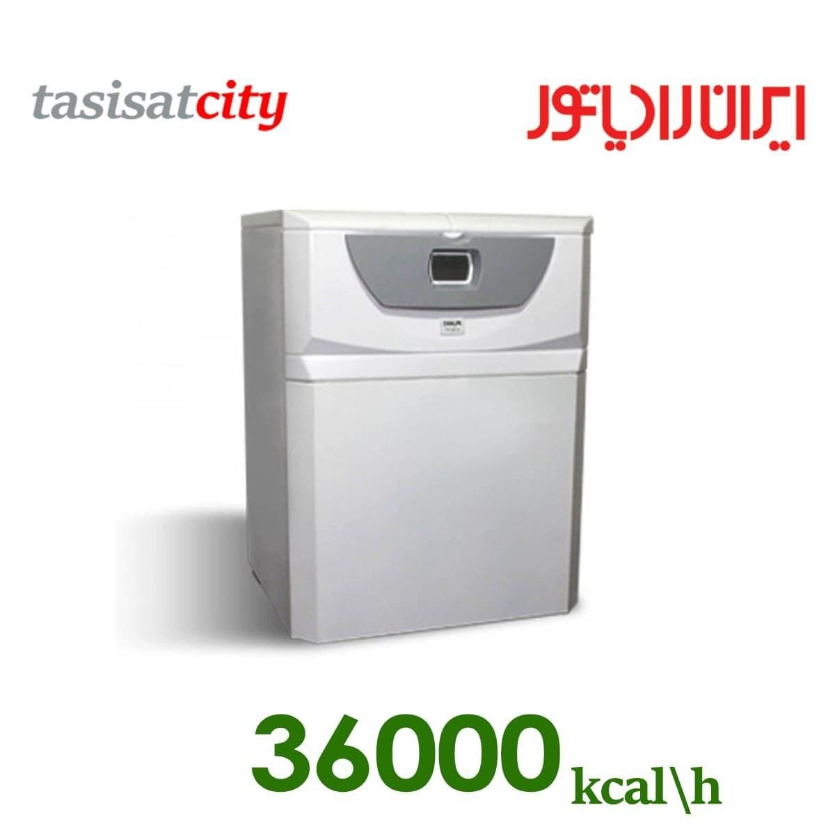 پکیج شوفاژ زمینی ایران رادیاتور مدل Z36FF