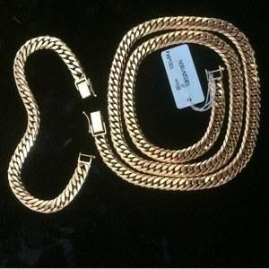 تصویر گردنبند دستبند طلا کارتیه ژاپنی