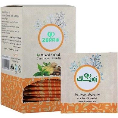 تصویر دمنوش گیاهی دارچین و چای سبز و… زوریک (چاقی)