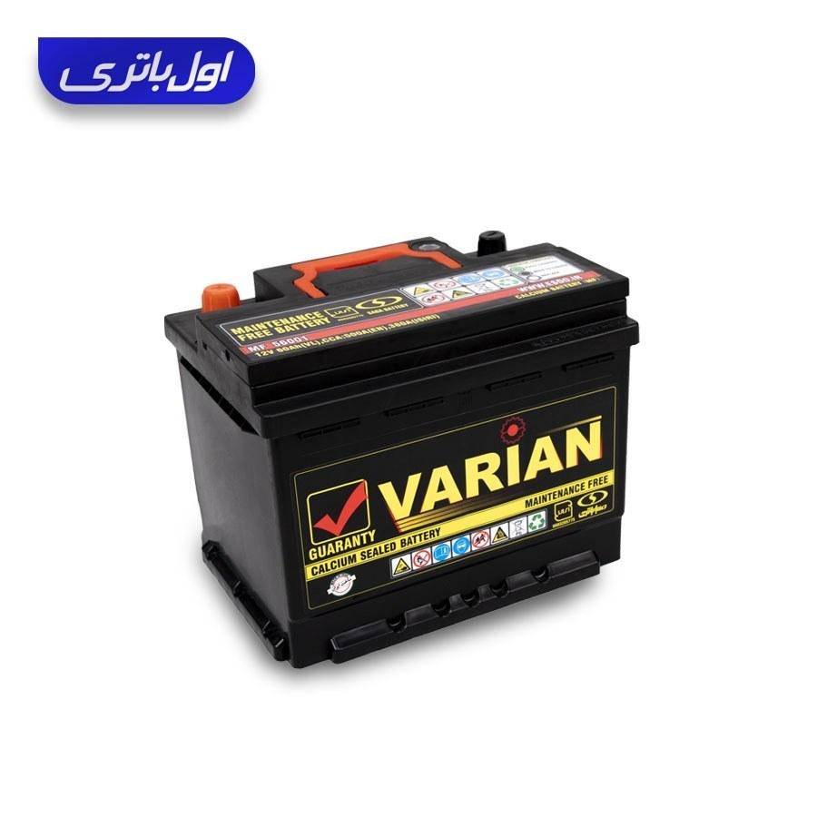 main images باتری اتمی 60 آمپر کوتاه واریان (صبا باتری)