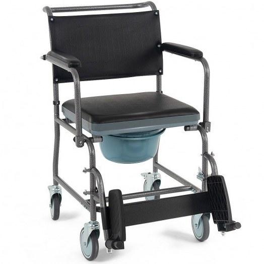 تصویر صندلی چرخدار حمام و توالت