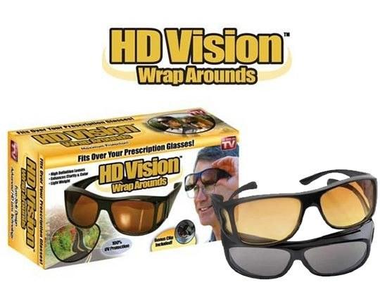 پک دو عددی عینک آفتابی HD Vision