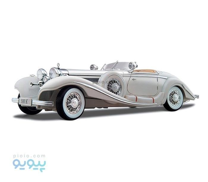 عکس ماکت ماشین مدل Mercedes Benz 500K Type Specialroadster 1936  ماکت-ماشین-مدل-mercedes-benz-500k-type-specialroadster-1936