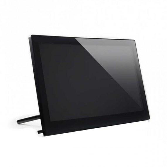 تصویر نمایشگر 13.3 اینچ رنگی IPS با تاچ خازنی 1920x1080 با ورودی HDMI دارای کاور شیشه ای تایپ H محصول Waveshare