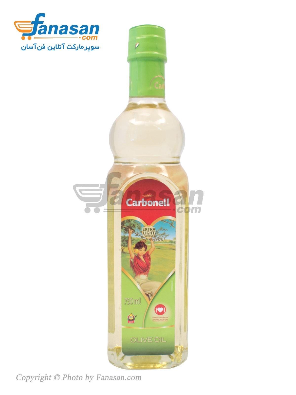 لیست قیمت روغن زیتون با بو ممتاز فرابکر Carbonell 750 میلی لیتری | ترب