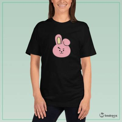 تصویر تی شرت زنانه bts bt21 cooky