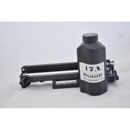 شارژ و سرویس و تعمیر کارتریج تونر لیزری مشکی اچ پی HP 17A Cartridge |