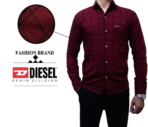 دو مدل پیراهن مردانه برند Diesel