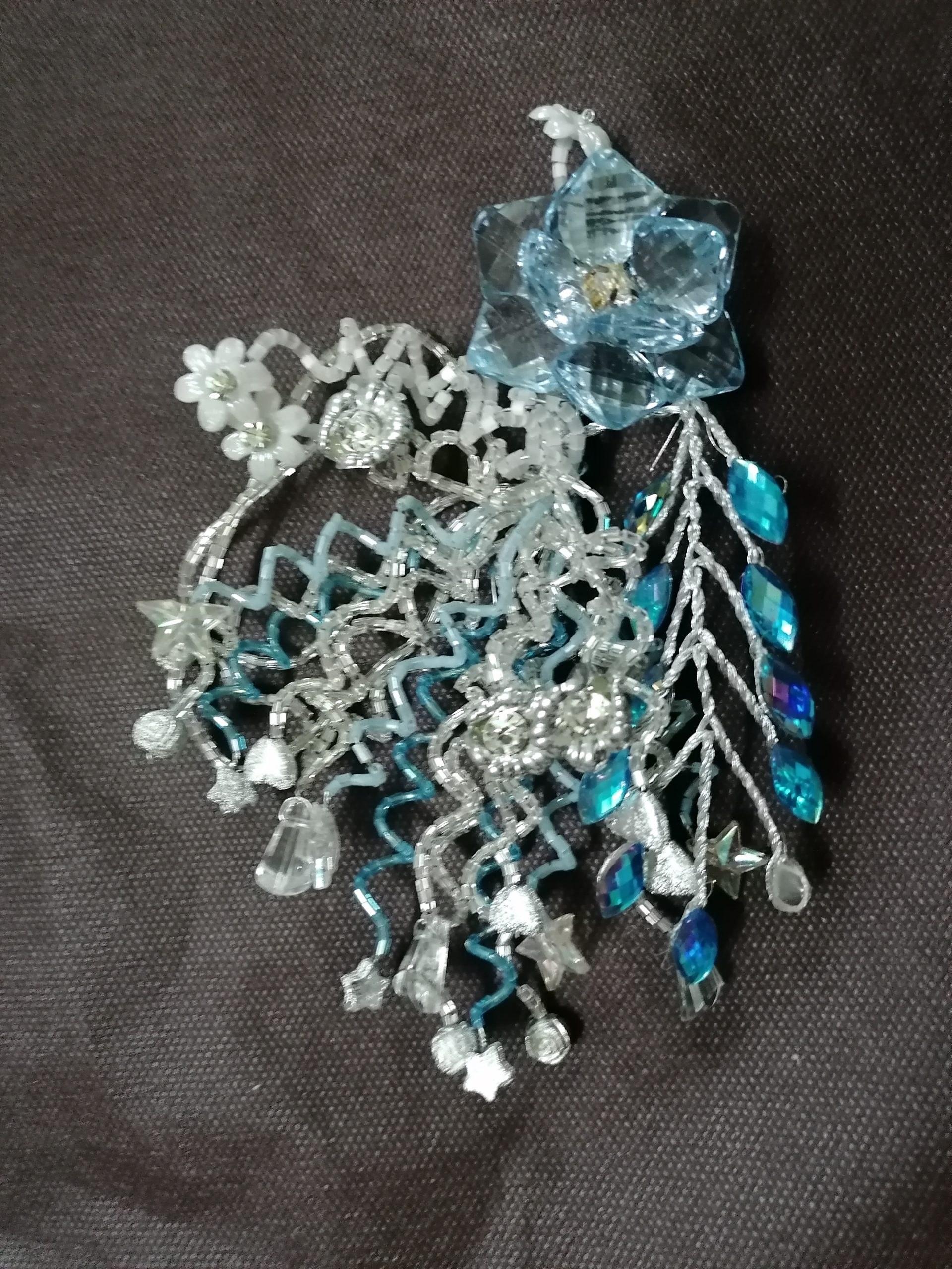تصویر تاج سر، تاج عروس، گل سر ( شیک و لاکچری ) باکیفیت
