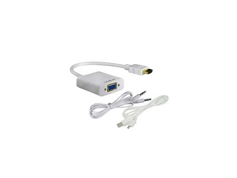 تبدیل HDMI به VGA همراه با آداپتور