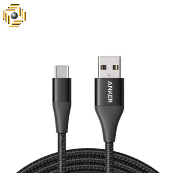 تصویر کابل تبدیل USB به USB-C انکر مدل A8462011 PowerLine + II طول 0.9 متر