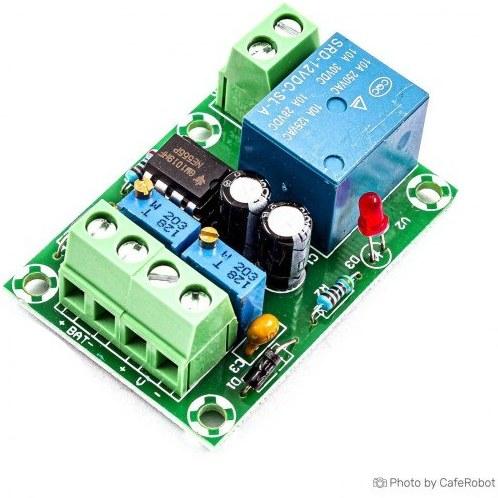 تصویر ماژول کنترل شارژ باتری 12 ولت XH-M601