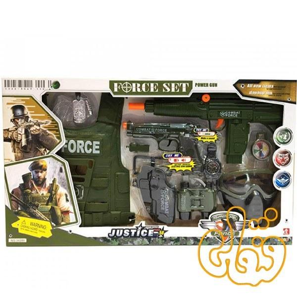 تصویر ست تفنگ و لوازم نظامی 34280