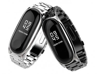 بند فلزی دستبند شیائومی Xiaomi Mi Band 3 Metal Strap