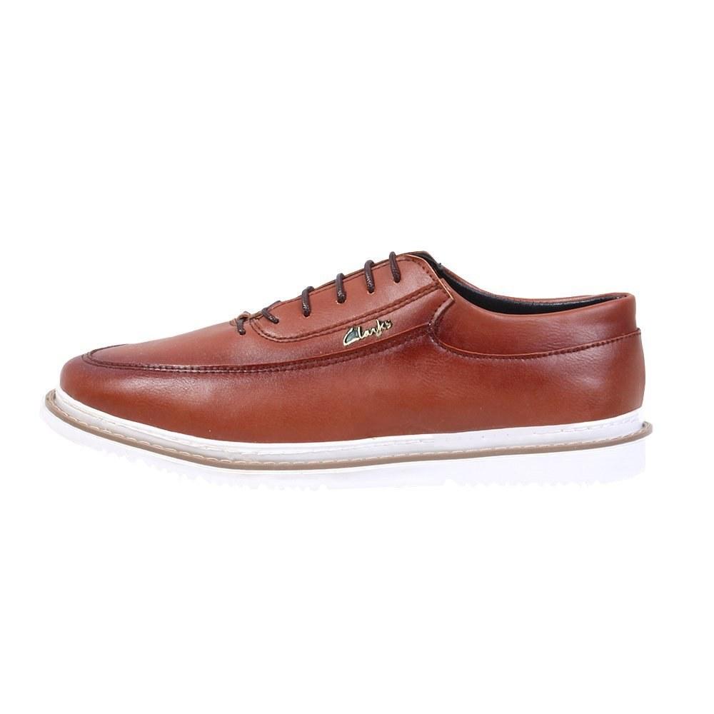 کفش روزمره مردانه طرح کلارک کد 2053