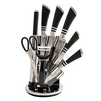 تصویر سرویس چاقو آشپزخانه ۹ پارچه فوما مدل FU-633