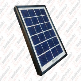 تصویر پنل خورشیدی شارژ وسایل الکتریکی DP li18