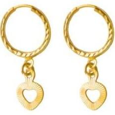 گوشواره طلا 18 عیار زنانه کد E118 |