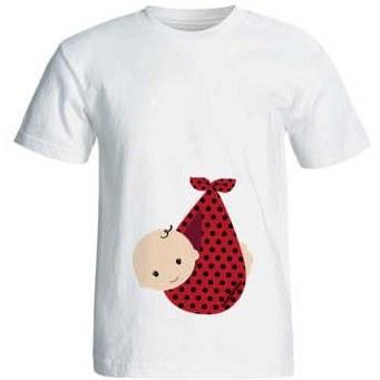 تصویر تی شرت بارداری کد 3971