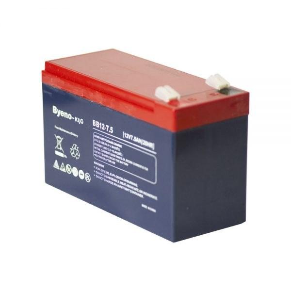 تصویر باتری یو پی اس 12 ولت 7.5 آمپر ا باتری یو پی اس 12 ولت 7.5 آمپر باینو مدل BB12-7.5 باتری یو پی اس 12 ولت 7.5 آمپر باینو مدل BB12-7.5