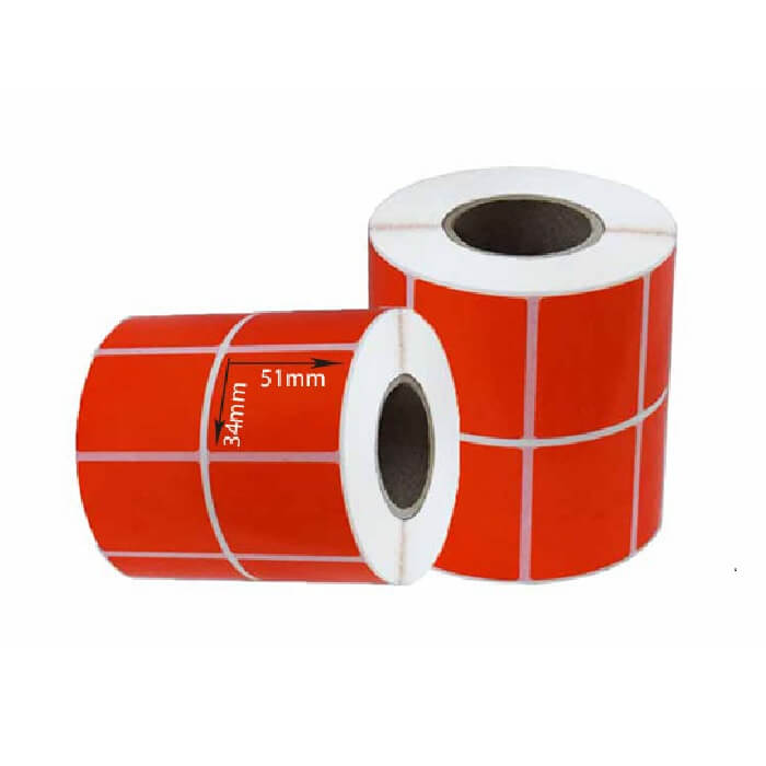 تصویر لیبل کاغذی 51×34 Label Paper 34×51