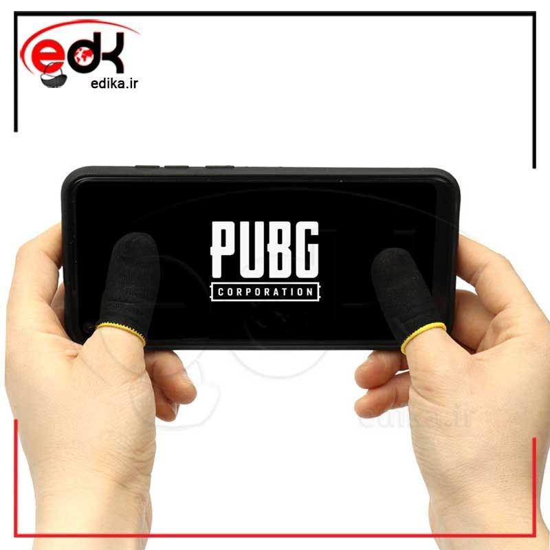 تصویر دستکش بازی موبایل و تبلت PubG MK-8 ا دستکش بازی موبایل و تبلت PubG MK-8 دستکش بازی موبایل و تبلت PubG MK-8