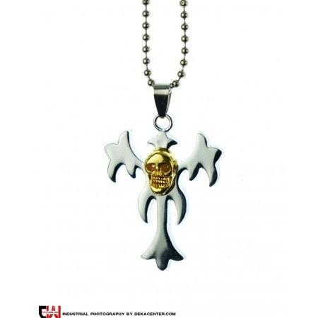 گردنبند صلیب استیل مدل کبیتا |