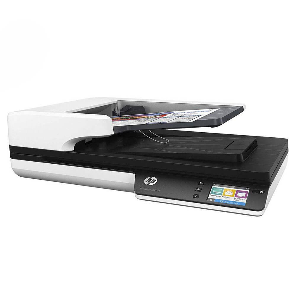 تصویر اسکنر HP 4500 Fn1 HP ScanJet Pro 4500 fn1 Network Scanner