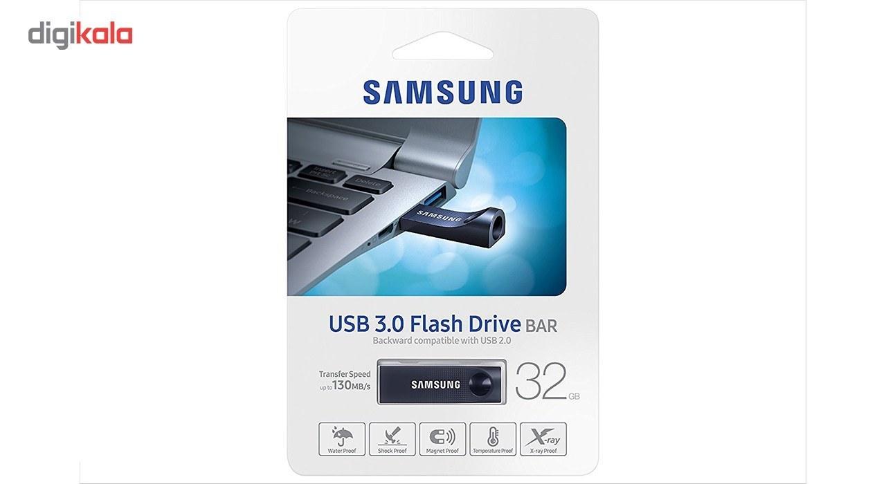 تصویر فلش مموری سامسونگ مدل Bar MUF-32BC ظرفیت 32 گیگابایت Samsung Bar MUF-32BC Flash Memory - 32GB