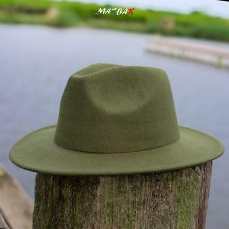تصویر کلاه مردانه خاخامی زیتونی