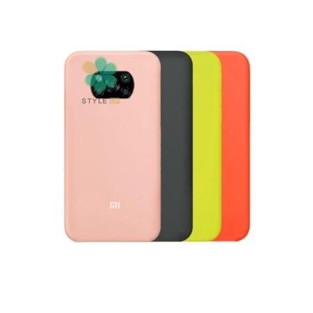 تصویر قاب گوشی شیائومی Xiaomi Poco X3 مدل سیلیکونی Silicone Cover Case for Xiaomi Poco X3
