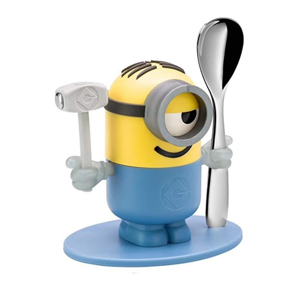 تصویر جا تخم مرغی وی ام اف مینیون با قاشق - WMF 1286226040 Minions Cup with Spoon