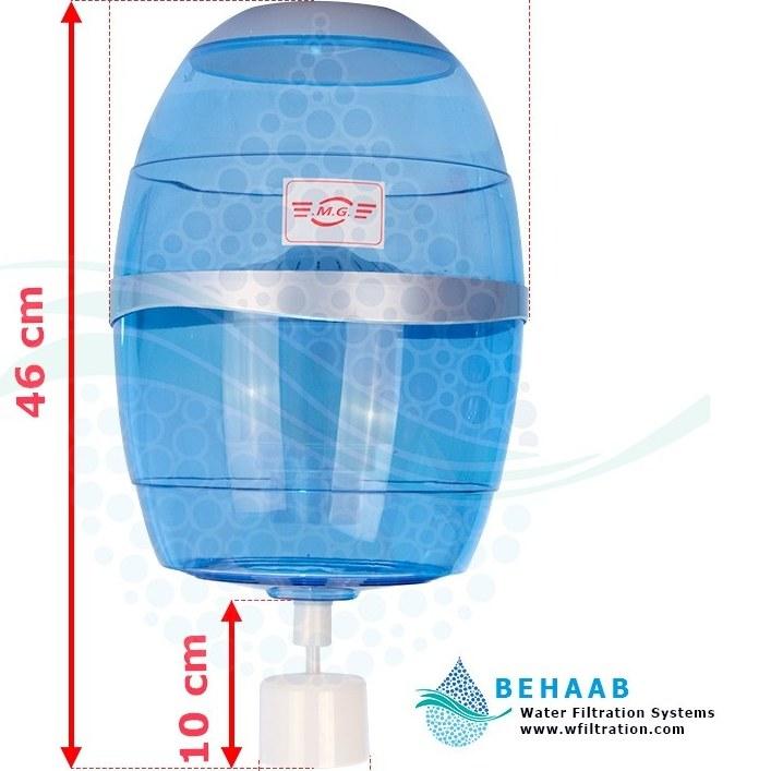 تصویر مخزن آبسردکن تصفیه دار مدل  MG 310 MG 310 Water Filtration System for Top-Load Water Dispensers