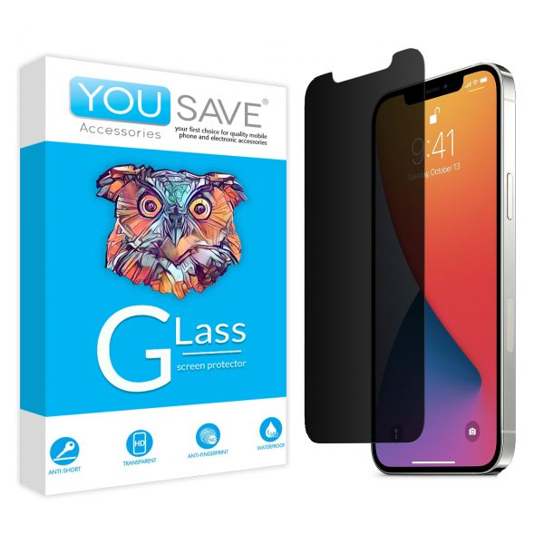 تصویر گلس تمام صفحه مات گوشی موبایل اپل IPHONE 12 promax
