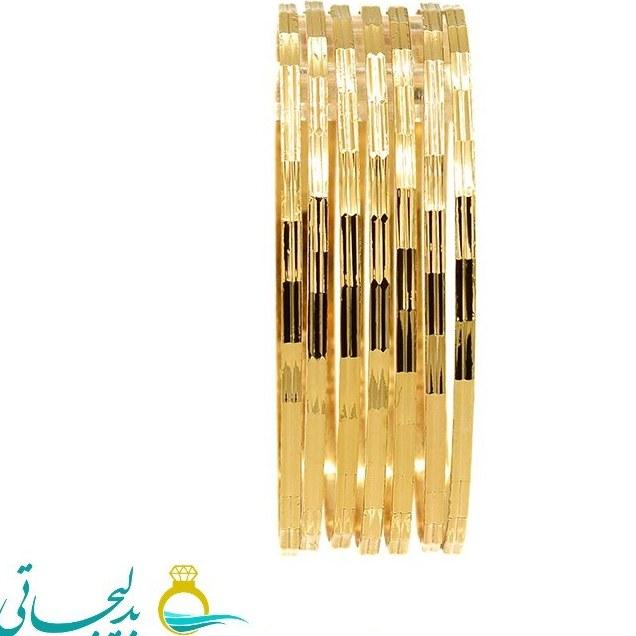 النگو طلایی زنانه- کد ۶۱۱۱