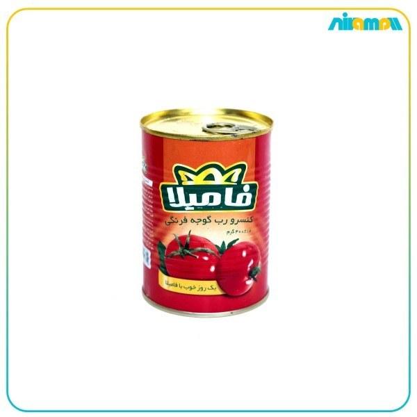 تصویر رب گوجه فرنگی فامیلا 400 گرم