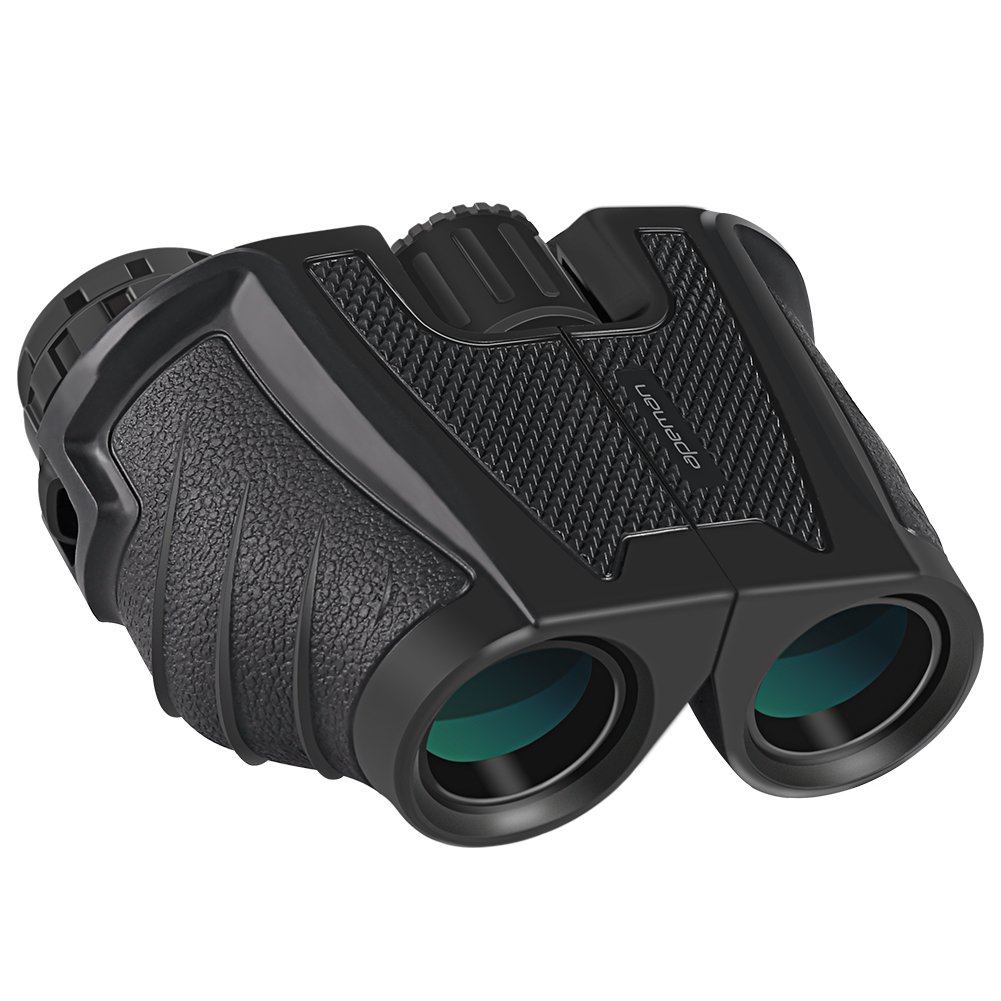 12x25 High Powered Binoculars with Weak Light Night Vision Clear Bird Watching Great for Outdoor Sports Games and Concerts
