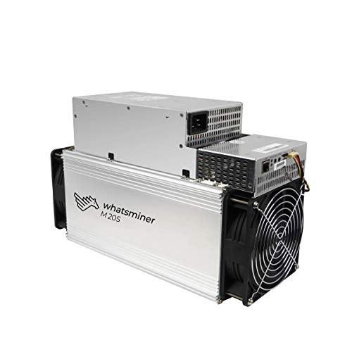 وینسمینر M20S 70TH / S BTC دستگاه معدن بیت کوین 3360W Bitcoin Miner شامل PSU