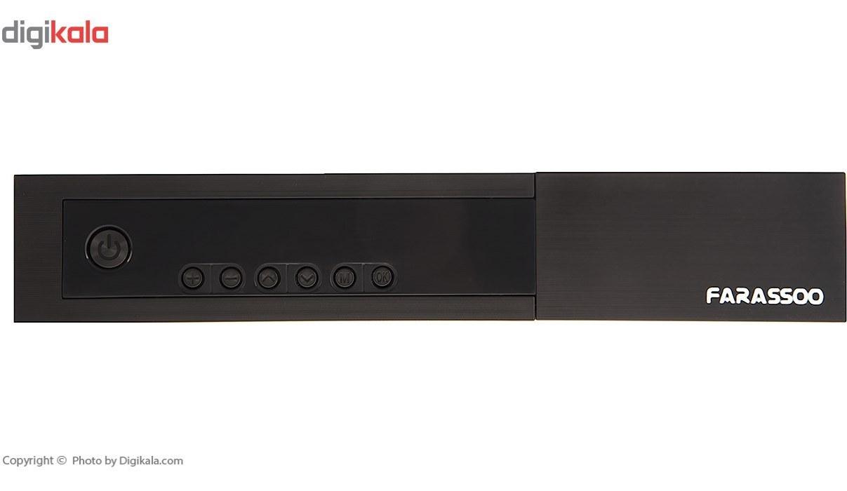 تصویر گیرنده دیجیتال فراسو مدل FDR-222 Farassoo FDR-222 DVB-T2