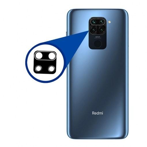 تصویر شیشه لنز دوربین گوشی شیائومی Xiaomi Redmi Note 9 Camera Lens Xiaomi Redmi Note 9