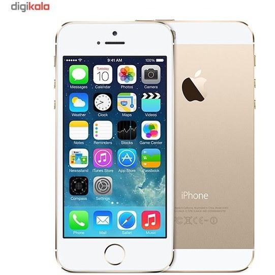 تصویر گوشی اپل آیفون 5s   ظرفیت 32 گیگابایت Apple iPhone 5s   32GB